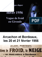 Gironde Sous La Neige 1956
