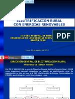 06. Electrificación Rural con Energías Renovables