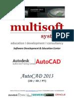 6 months project based AutoCAD training Delhi
