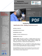 Automotive Welding Technician Level4
