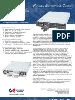 SA2U-12EHP Datasheet Rugged Rackmount SAN RAID System