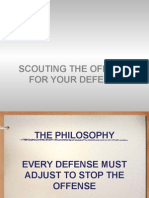 Scouting Offense