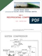 2.Materi Bab II Reciprocating & Sistem Compressor