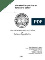 BBS501 - BEHAVIOUR BASED SAFETY