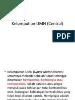 Kelumpuhan UMN (Central)