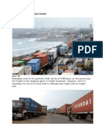 freight cost and container details