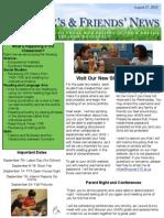 Newsletter 8-28