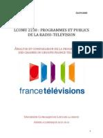 Programmation France télévisions