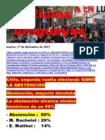 Noticias Uruguayas Martes 17 de Diciembre Del 2013