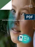 Brochure Vrijeschool Pabo