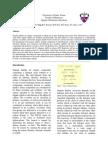 Experiment 8 Formal Report