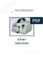 K PUMP Manual