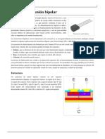Transistor de unión bipolar
