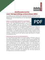 Achtergrond informatie aandeelhoudersactie schoorsteen DRU Industriepark