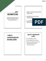 AGUILO Derecho y argumentación PPT -JCSC