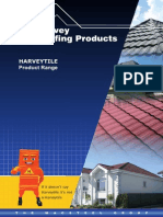 Harvey Tiles Product Range Brochure