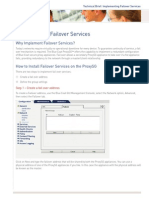 Implementing Failover Services Proxysg