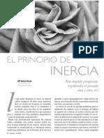 El Principio de Inercia