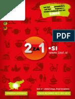 """2za1.si, dec 2013 - maj 2014 - knjiga kuponov """"dva za ena"""""""
