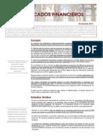 Informe de Mercados Noviembre 2013