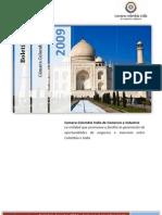 Boletín Camara Comercio Colombia India