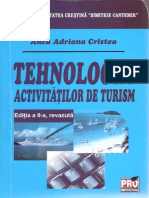 TehnologiaActivitatilorDeTurismmanualeFacultateEdituraProUniversitaria-AutorAncaAdrianaCristea