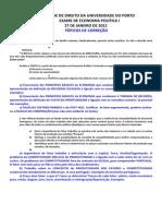 Exame de Economia Politica i - 2011-2012- 27.01.2012 - Topicos de Correcao
