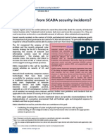 Can We Learn From SCADA Security Incidents