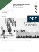 Book review of Life between Buildings