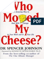 who moved my cheese review