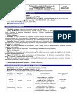 FISPQ Adesivo-cpvc Mexichem