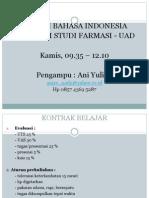 Bahasa Indonesia Farmasi