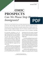 Stop Blaming Immigrants