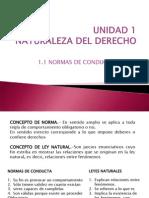 Fundamentos de Derecho Unidad 1