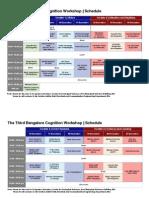 Workshop Schedule New