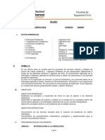 Programa- HIDROLOGIA Univ Nal Federico Villarreal