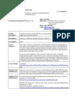 Programa- Water Resources Engineering-Syl Spring 2008
