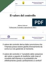 Il Valore Del Controllo 2013