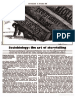 1978 - Jay Gould, Stephen - Sociobiology; The Art of Storytelling