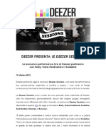 Deezer Sessions 1510