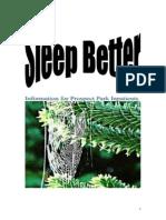 Sleep Hygiene Information