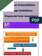 Etapas de La Anestesia