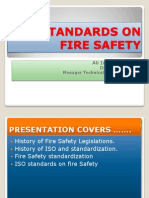 Iso Standards on Fire Safety