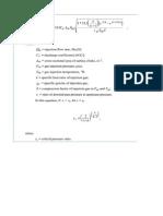 Thornhill Craver Equation