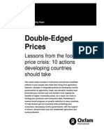 Lessons From the Food Price Crisis, 10 Actions Developing Countries Should Take (2008)