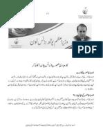 Business Plan Template - Urdu