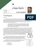 How Euler Did It 03 Venn Diagrams
