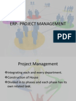 Erp- Project Management