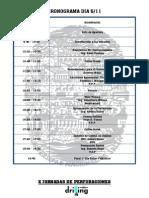 Cronograma Oficial Final 2013