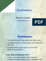 A.a.11-12 SITLab - Lucidi 2 - Il Geodatabase